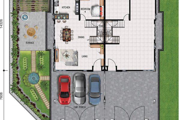 Semi-D Ground Floor