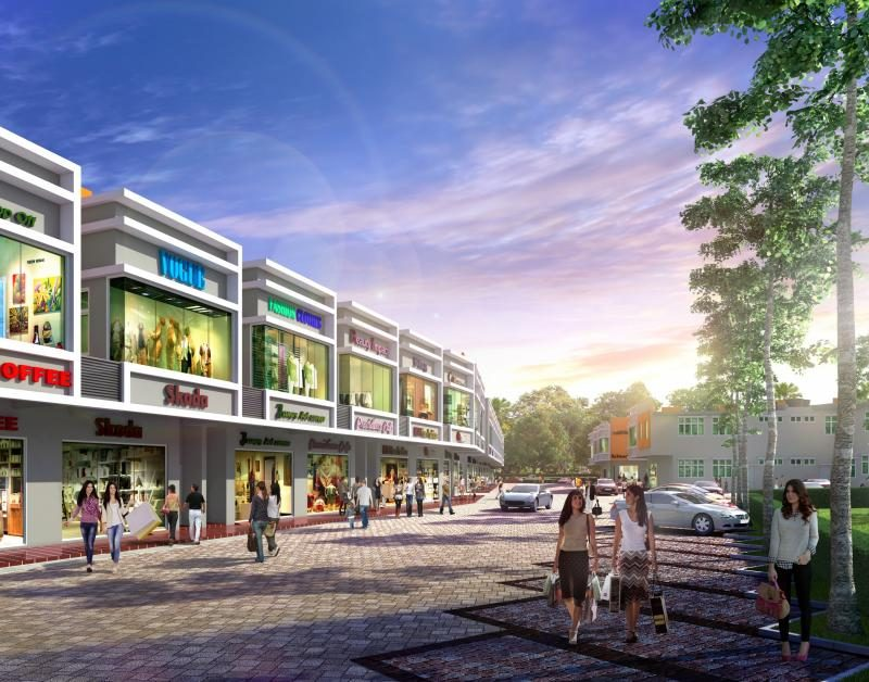 Setia Square Amanjaya-Street_view