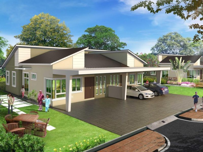 Taman Kenari Kupang-Single-Storey-Semi-D